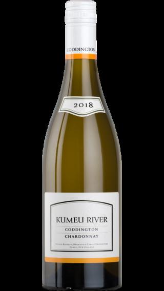 Bottle of Kumeu River Coddington Chardonnay 2018 wine 750 ml