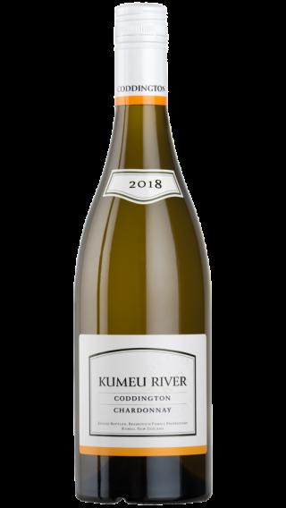 Bottle of Kumeu River Coddington Chardonnay 2019 wine 750 ml