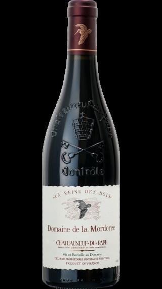 Bottle of Mordoree Chateauneuf du Pape La Reine des Bois 2018 wine 750 ml