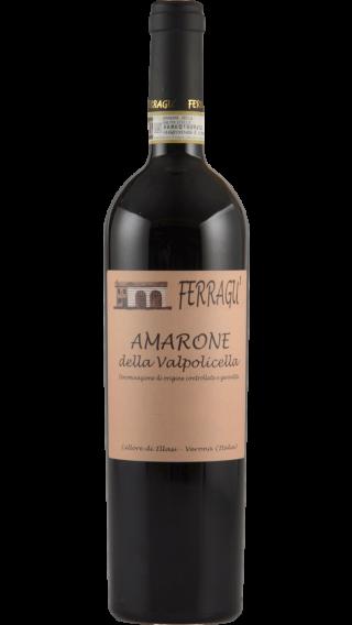 Bottle of Ferragu Amarone della Valpolicella 2014 wine 750 ml