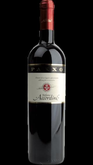 Bottle of Stefano Accordini Paxxo Rosso del Veneto 2017 wine 750 ml