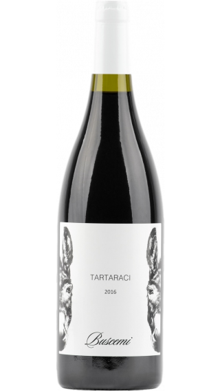 Bottle of Buscemi Etna Rosso Tartaraci 2016 wine 750 ml