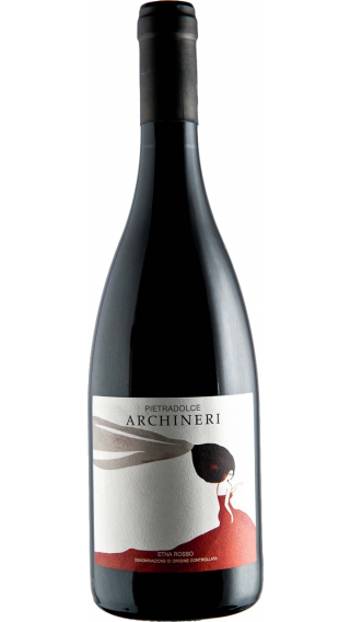 Bottle of Pietradolce Archineri Etna Rosso 2017 wine 750 ml