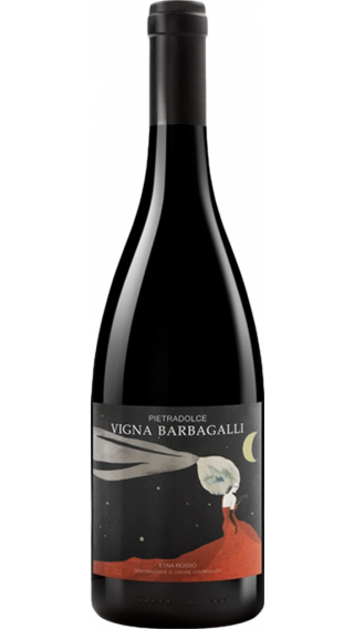 Bottle of Pietradolce Barbagalli Etna Rosso 2016 wine 750 ml