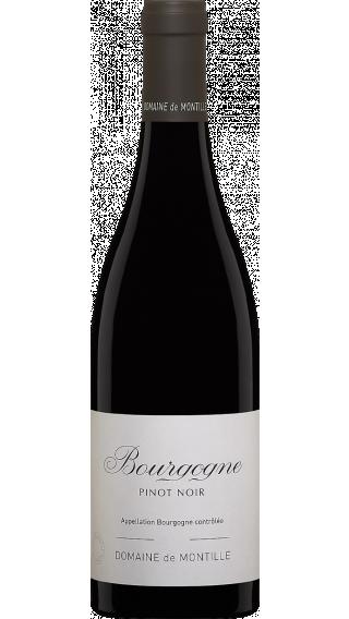 Bottle of Domaine de Montille Bourgogne Rouge 2017 wine 750 ml