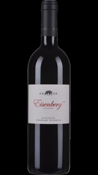 Bottle of Krutzler Eisenberg Blaufrankisch Reserve 2017 wine 750 ml
