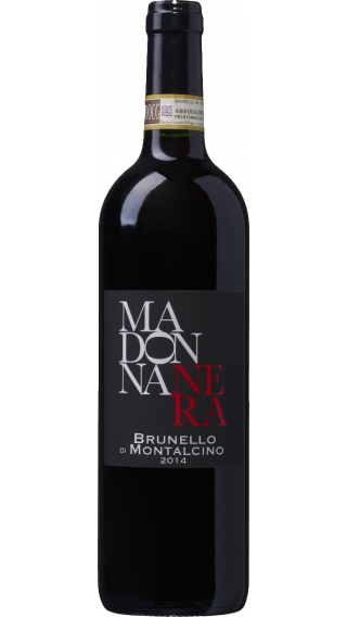 Bottle of Madonna Nera  Brunello di Montalcino 2014 wine 750 ml