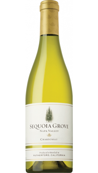 Bottle of Sequoia Grove Chardonnay 2017 wine 750 ml