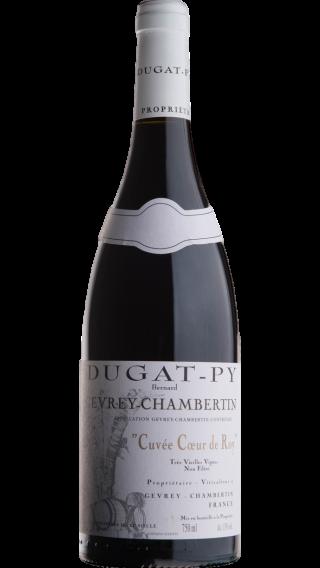 Bottle of Domaine Dugat-Py  Gevrey Chambertin Coeur de Roy 2015 wine 750 ml