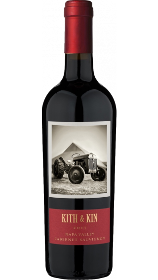 Bottle of Round Pond Kith & Kin Cabernet Sauvignon 2017 wine 750 ml