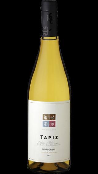 Bottle of Tapiz Alta Collection Chardonnay 2018 wine 750 ml