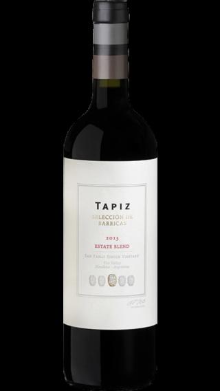Bottle of Tapiz Seleccion de Barricas 2013 wine 750 ml