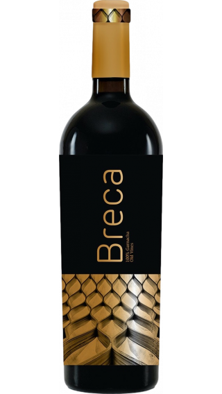 Bottle of Breca 2017 wine 750 ml
