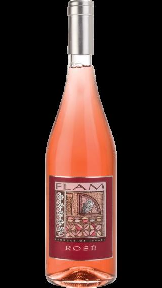 Bottle of Flam Rose 2019 wine 750 ml