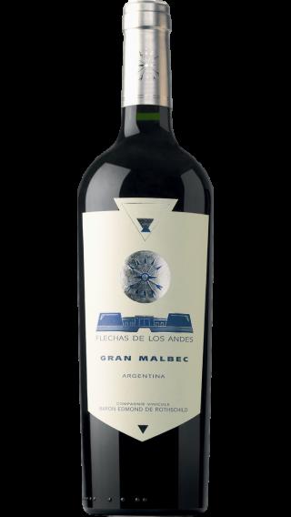 Bottle of Edmond de Rothschild Flechas De Los Andes Gran Malbec 2017 wine 750 ml