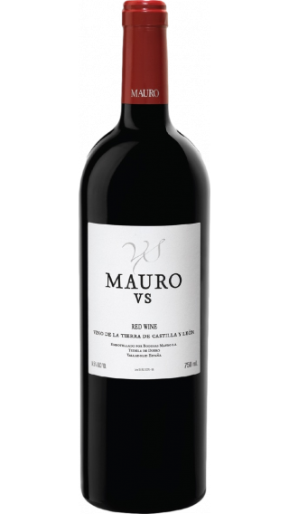 Bottle of Mauro Vendimia Seleccionada  2017 wine 750 ml
