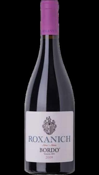 Bottle of Roxanich Merlot Bordo 2009 wine 750 ml