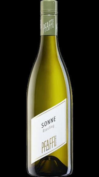 Bottle of Pfaffl Sonne Riesling 2019 wine 750 ml