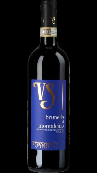 Bottle of Vasco Sassetti Brunello di Montalcino 2015 wine 750 ml