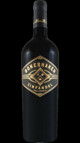 Bottle of Boneshaker Zinfandel 2017 wine 750 ml