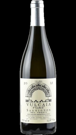 Bottle of Inama Vulcaia Fume Sauvignon 2018 wine 750 ml