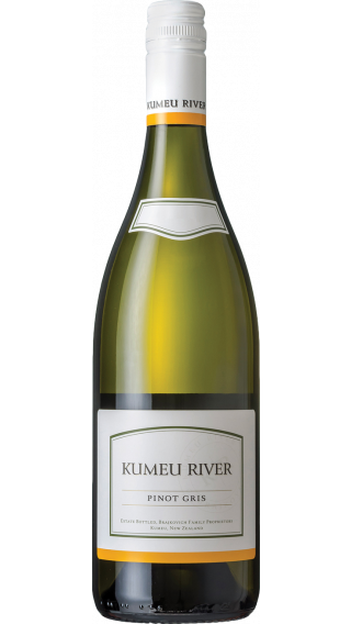 Bottle of Kumeu River Estate Pinot Gris 2018 wine 750 ml