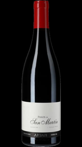 Bottle of Artadi Pasos de San Martin 2015 wine 750 ml