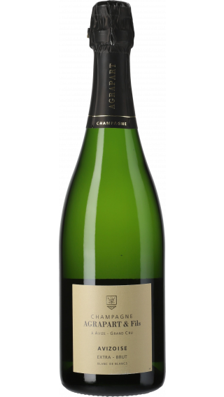 Bottle of Champagne Agrapart Avizoise Blanc de Blancs Grand Cru 2013 wine 750 ml