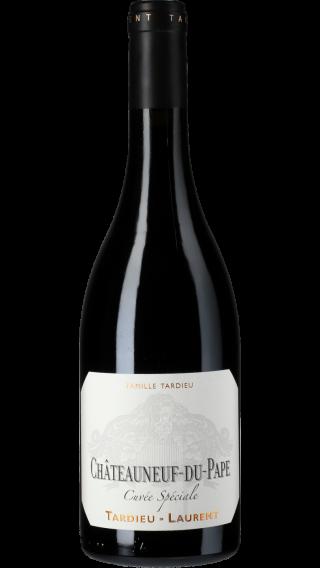 Bottle of Tardieu Laurent Chateauneuf du Pape Cuvee Speciale 2017 wine 750 ml
