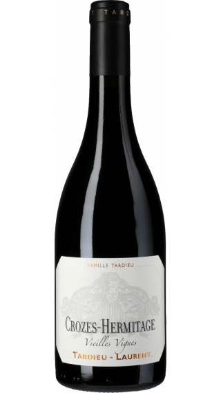 Bottle of Tardieu Laurent Crozes Hermitage Vieilles Vignes 2017 wine 750 ml