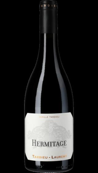 Bottle of Tardieu Laurent Hermitage 2017 wine 750 ml