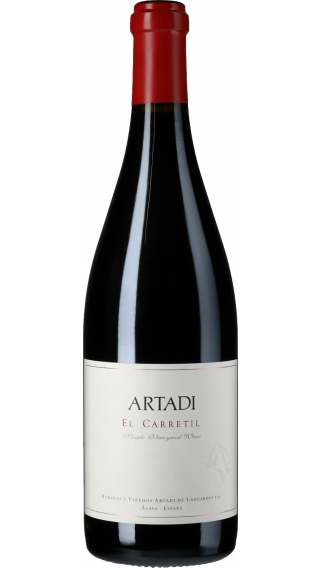 Bottle of Artadi El Carretil 2017 wine 750 ml