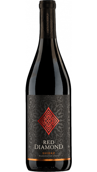 Bottle of Red Diamond Shiraz 2016 wine 750 ml