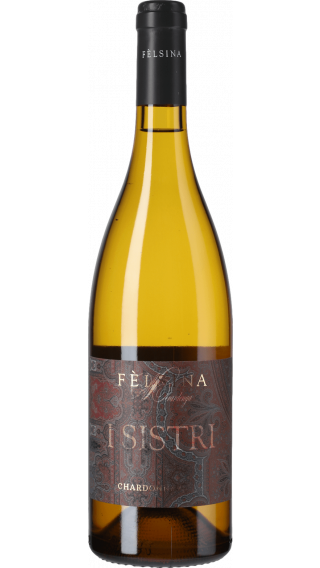 Bottle of Felsina I Sistri Chardonnay 2018 wine 750 ml