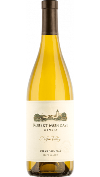Bottle of Robert Mondavi Napa Valley Chardonnay 2014 wine 750 ml
