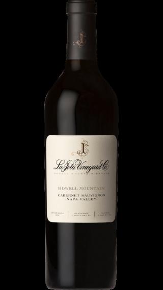 Bottle of La Jota Howell Mountain Cabernet Sauvignon 2014 wine 750 ml