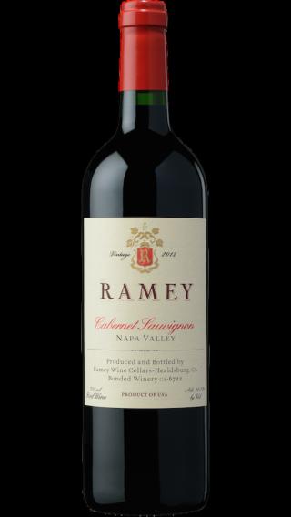 Bottle of Ramey Cabernet Sauvignon Napa  Valley 2014 wine 750 ml