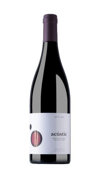 Bottle of Acustic Celler Acustic Montsant 2015 wine 750 ml