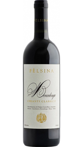 Bottle of Felsina Berardenga Chianti Classico 2017 wine 750 ml