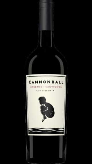 Bottle of Cannonball Cabernet Sauvignon 2016 wine 750 ml