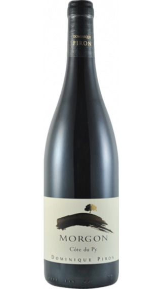 Bottle of Dominique Piron Morgon Cote du Py 2017 wine 750 ml