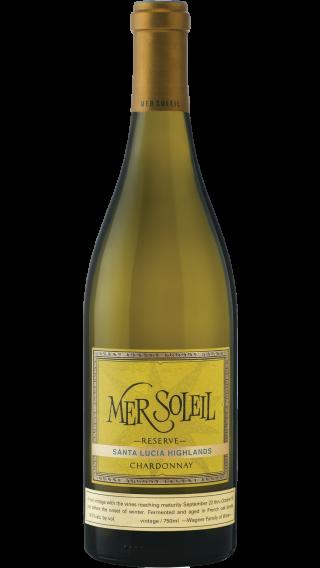 Bottle of Mer Soleil Reserve Chardonnay 2016 wine 750 ml