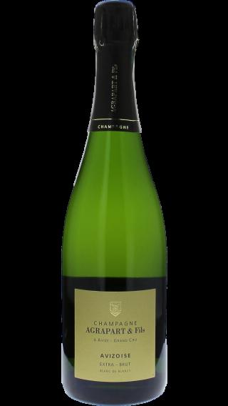 Bottle of Champagne Agrapart Avizoise Blanc de Blancs Grand Cru 2012 wine 750 ml