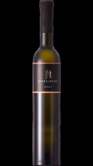 Bottle of Kozlovic Moskat Momjanski 2019 wine 500 ml