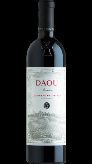 Bottle of DAOU Cabernet Sauvignon Reserve 2017 wine 750 ml