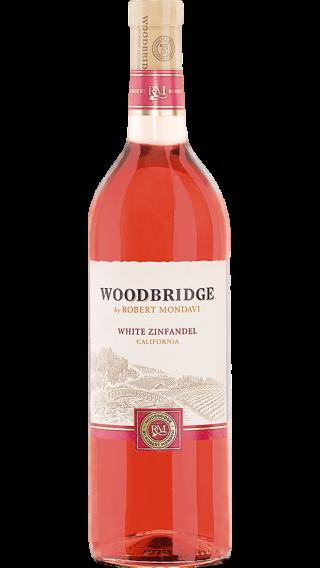 Bottle of Robert Mondavi Woodbridge White Zinfandel 2016 wine 750 ml