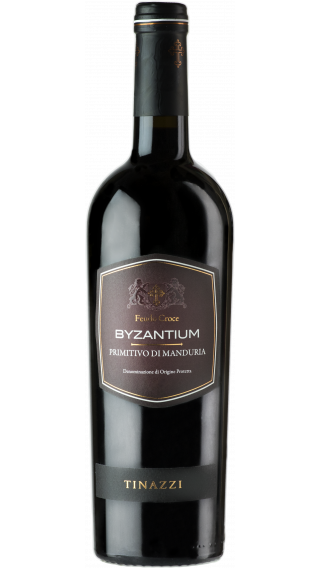 Bottle of Feudo Croci Byzantium Primitivo di Manduria 2019 wine 750 ml