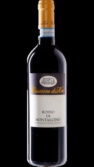 Bottle of Casanova di Neri Rosso di Montalcino 2015 wine 750 ml