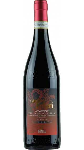 Bottle of Brunelli Amarone Campo Inferi Riserva 2011 wine 750 ml