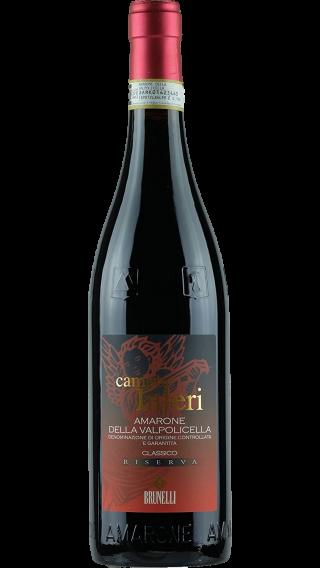 Bottle of Brunelli Amarone Campo Inferi Riserva 2012 wine 750 ml
